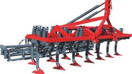 Tabular Type Horizontal Cultivator Double Roller Combination